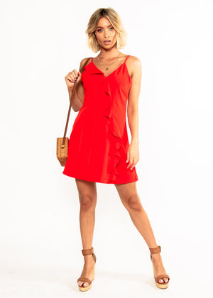 Fiorella Dress - Red