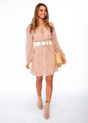 Desert Horizon Dress - Terracotta Floral
