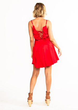 One to Watch Dress - Red