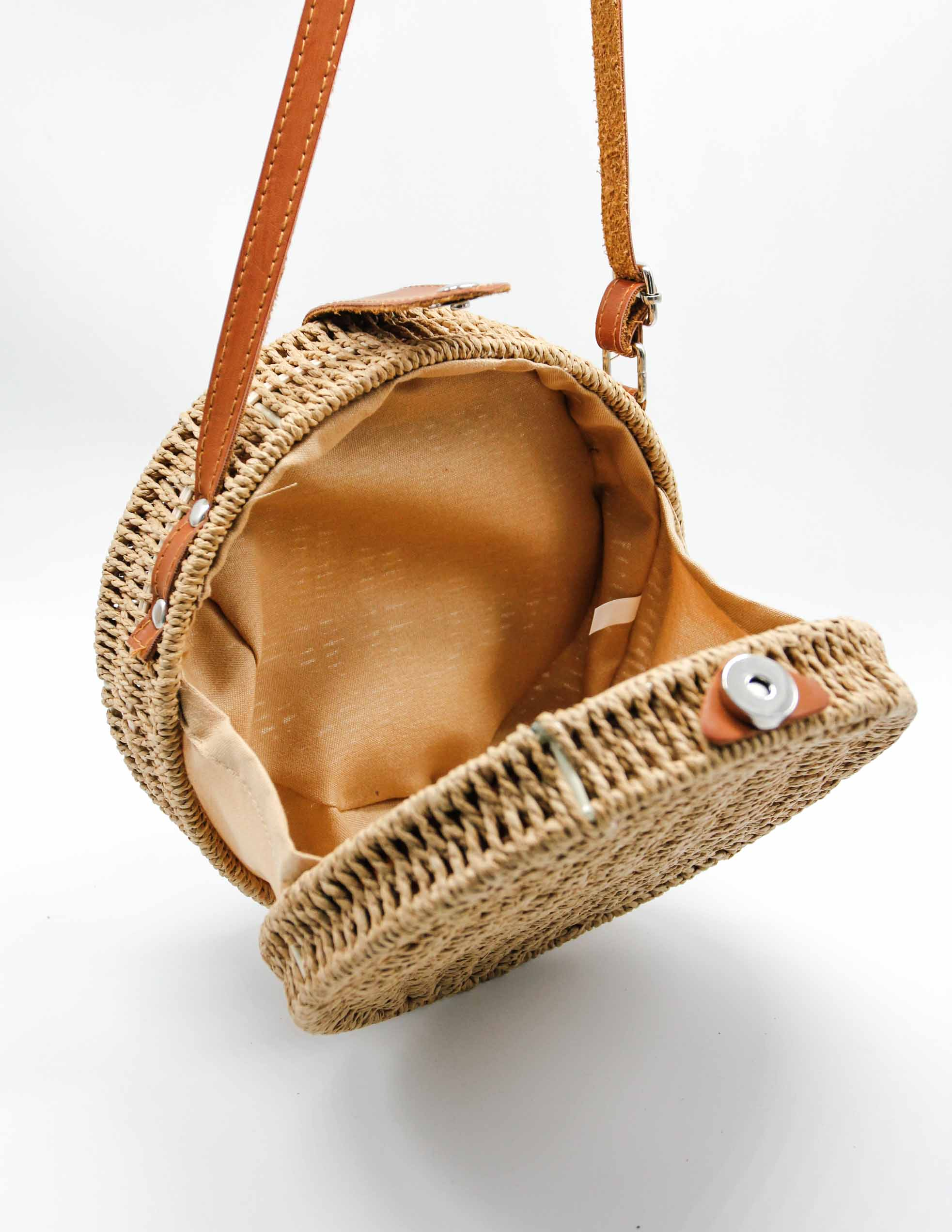 Fairplay Woven Bag - Tan