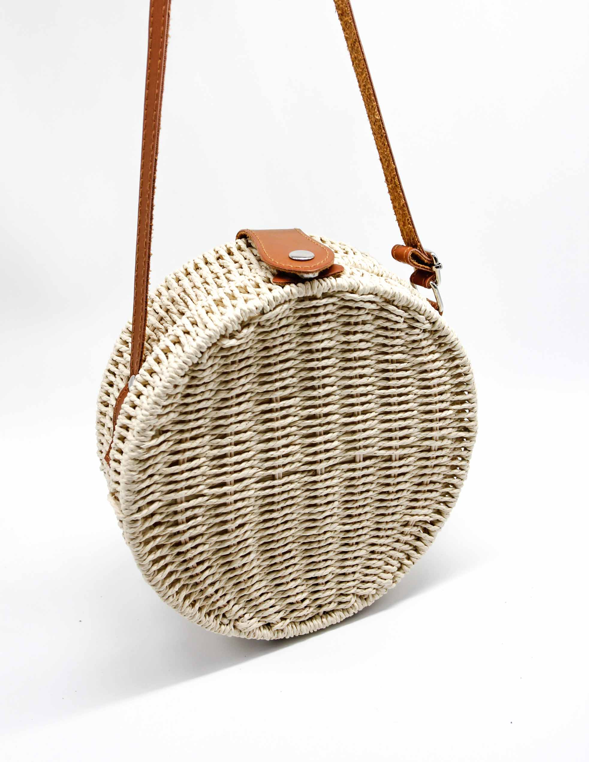 Fairplay Woven Bag - Cream