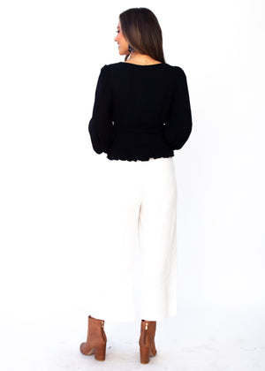 Tahleah Blouse - Black