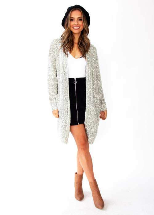 Women's Every Mood Cardigan - Sage