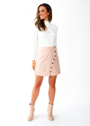 Women's Khloe Skirt - Mocha