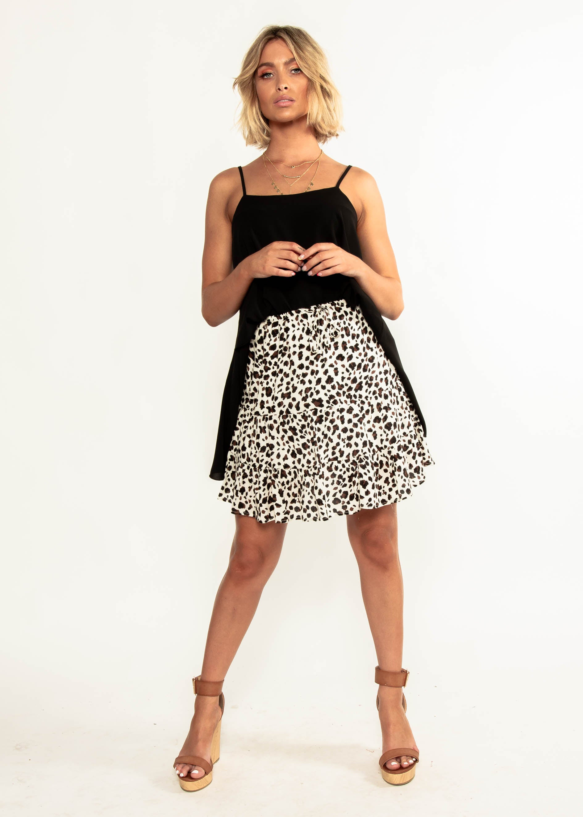 Tamsyn Skirt - Cheetah