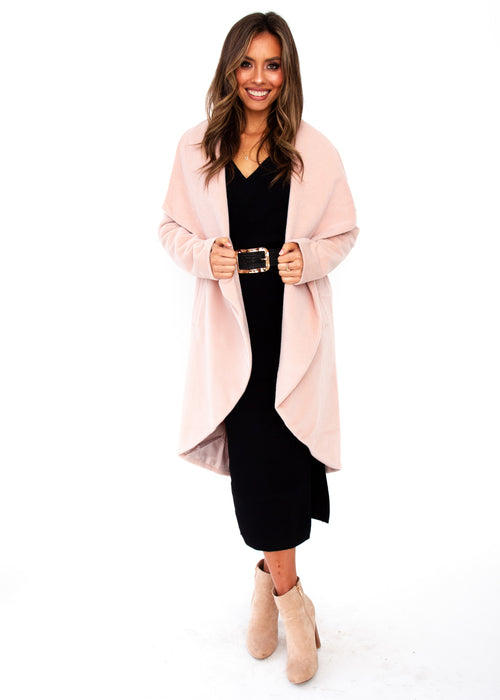 Come Together Coat - Blush