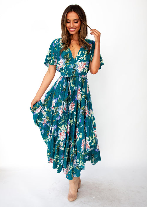 Women's Dayna Maxi Dress - Jetty - Jaase