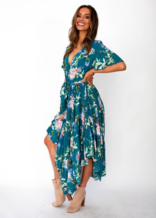 Dayna Maxi Dress - Jetty - Jaase