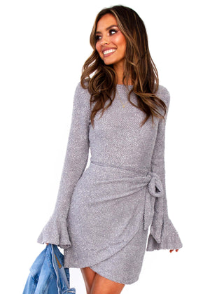 Women's Tonal Nights Dress - Grey