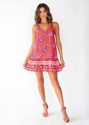 Sun Kissed Dress - Saffron Blossom