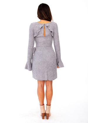 Tonal Nights Dress - Grey