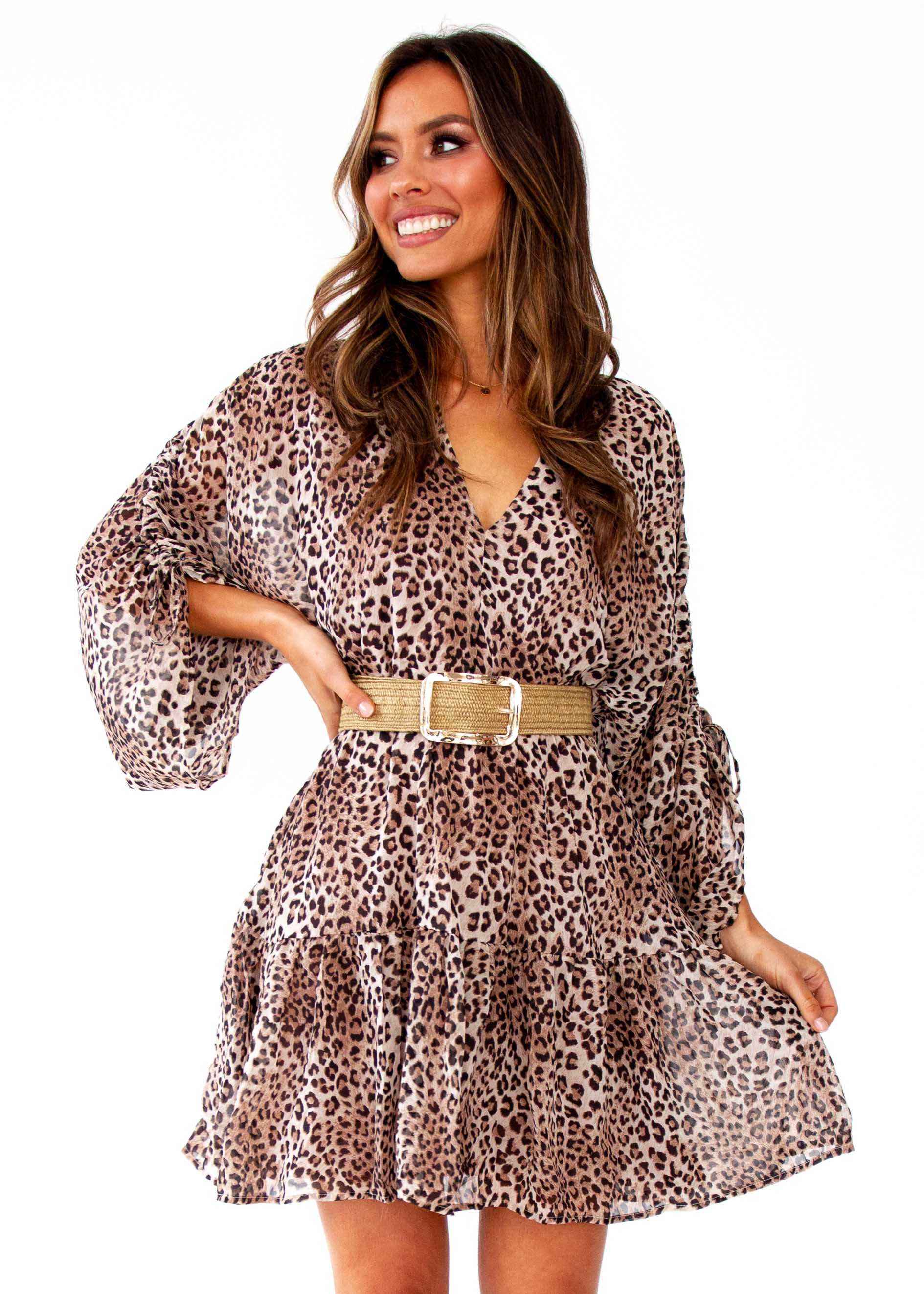 Women's Like No Other Dress - Leopard