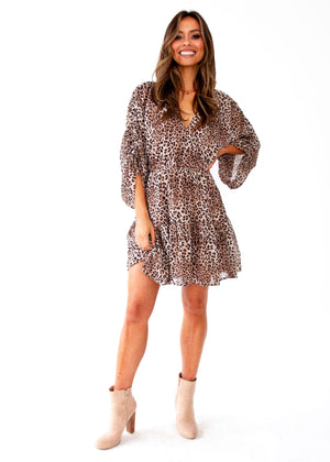 Like No Other Dress - Leopard