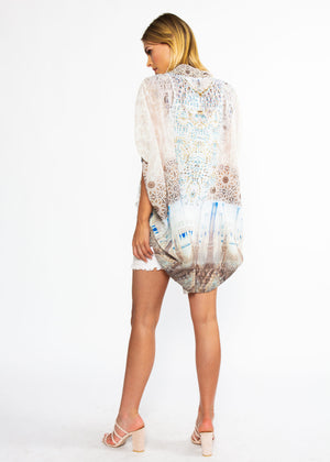 Say Nothing Chiffon Cape - Romano