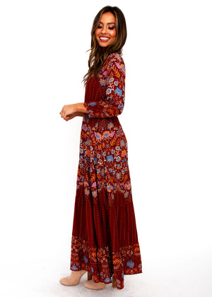 Halia Maxi Dress - Angie