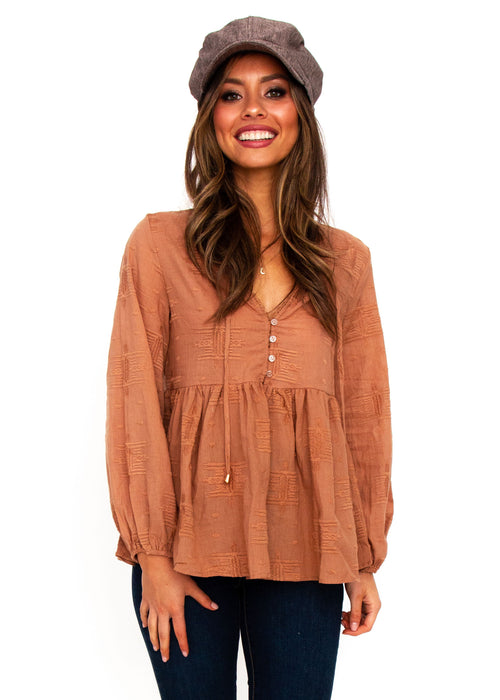 Women's Texas Blouse - Ochre