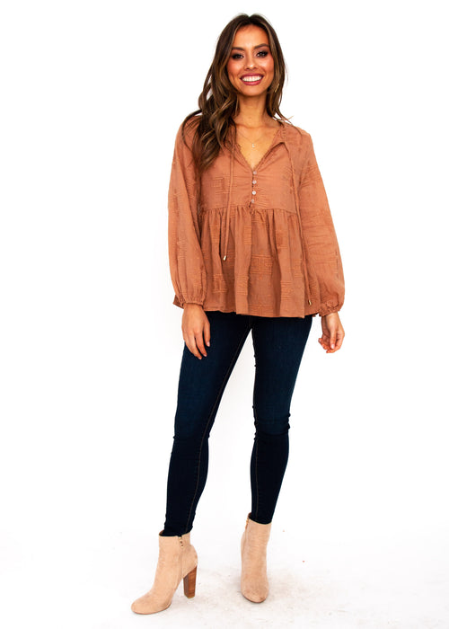 Texas Blouse - Ochre
