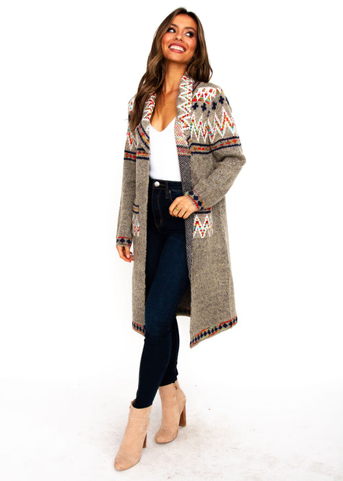 Women's Milly Cardigan - Oatmeal - Jaase