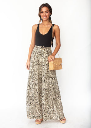 Women's Too Many Times Pants - Cheetah Print