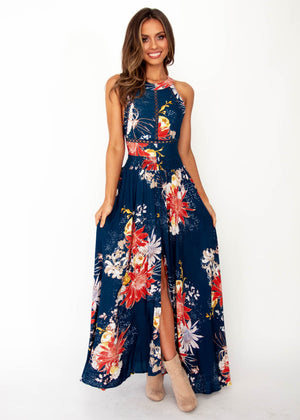Women's Break Of Dawn Maxi Dress - Liza - Jaase