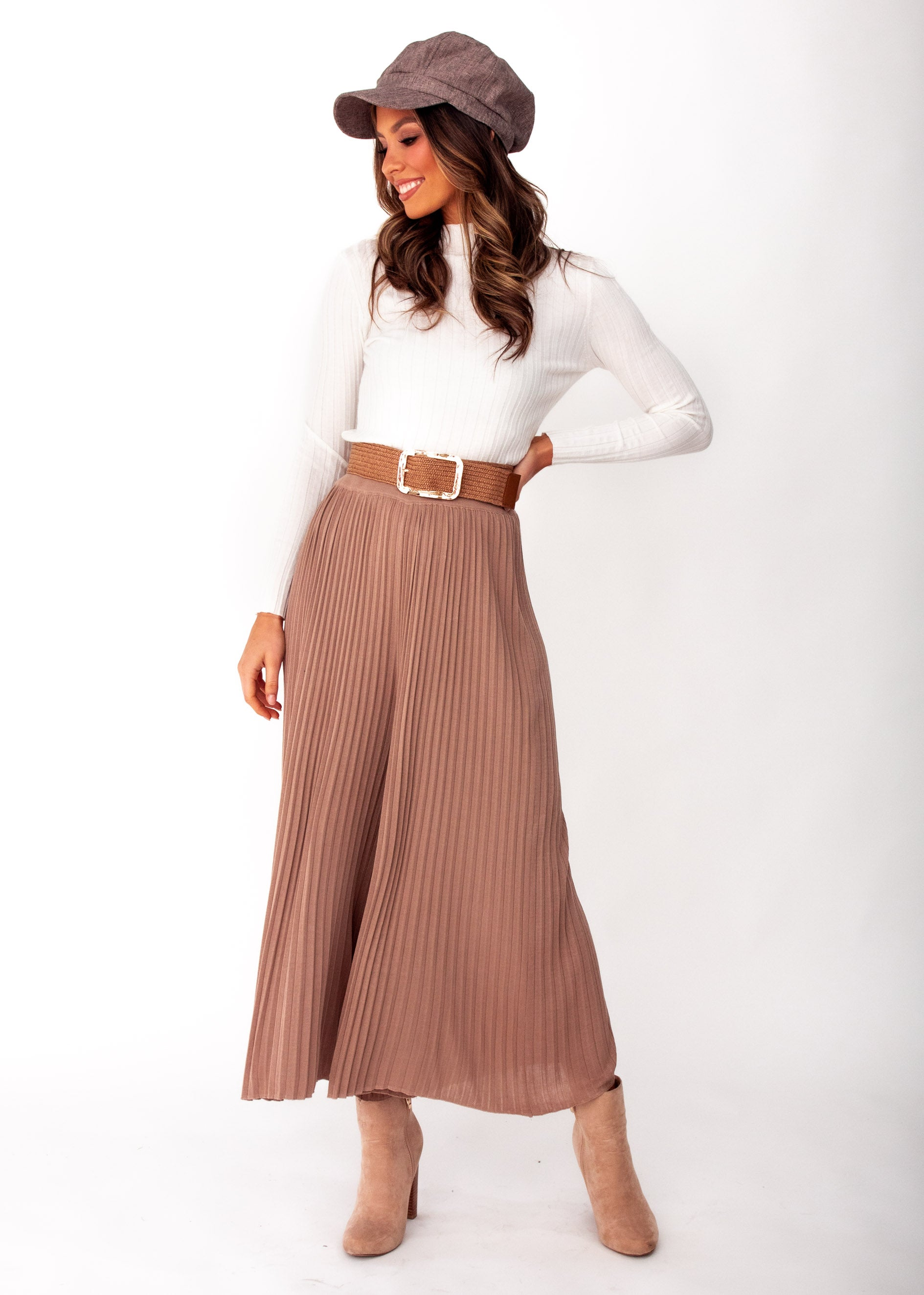 Women's Wintercrest Knit Culottes - Mocha
