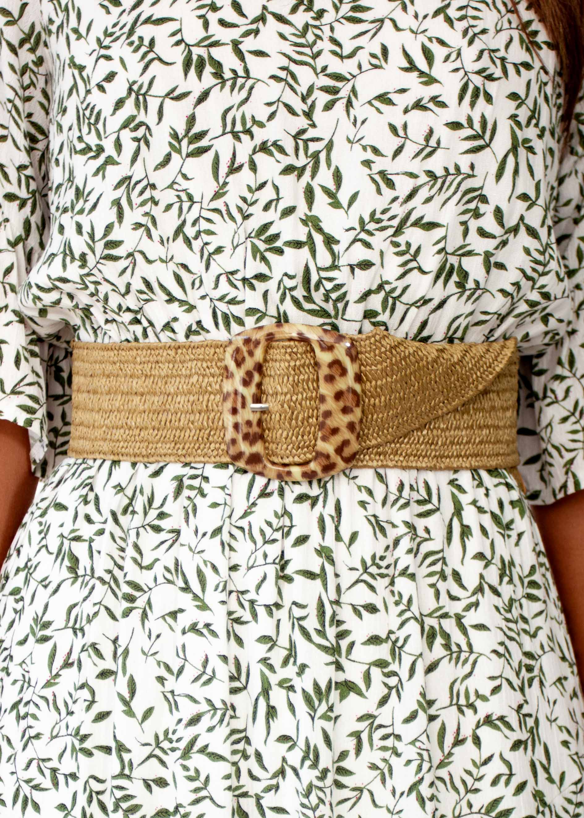 Women's Hit Or Miss Belt - Natural