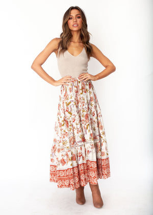 Josie Maxi Skirt - Autumn