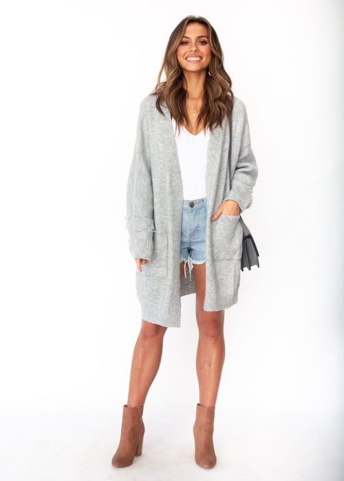 What You Need Cardigan - Grey