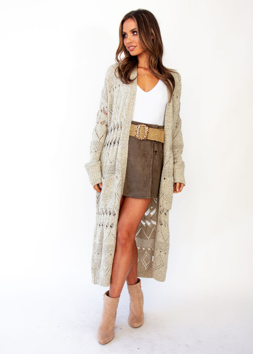 Spectacle Cardigan - Oatmeal