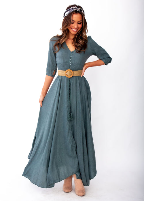 New Romantics Maxi Dress - Jamais - Jaase