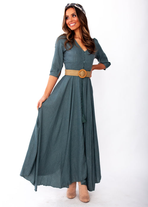 Women's New Romantics Maxi Dress - Jamais - Jaase