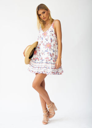 Sun Kissed Dress - White Floral