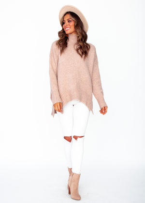 Apollo Sweater - Blush
