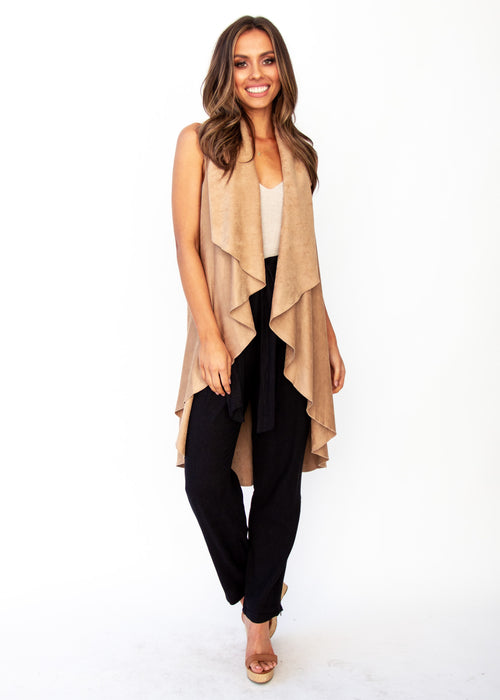 Calm Dream Cape - Camel