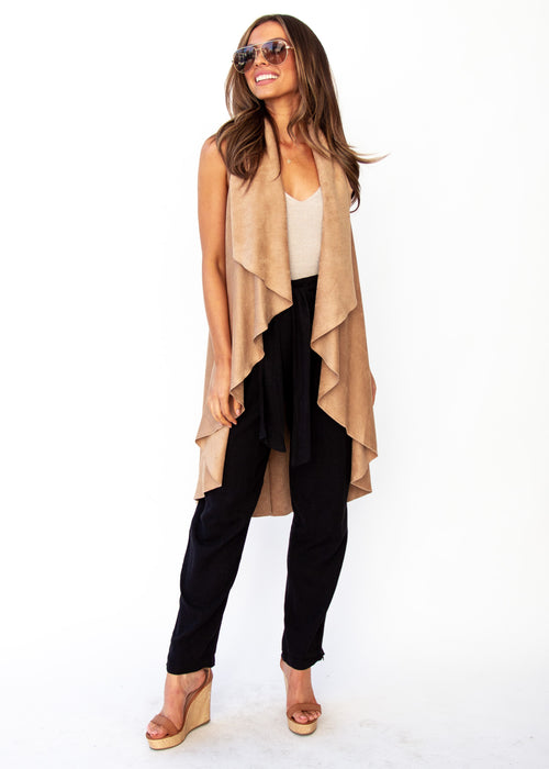 Women's Calm Dream Cape - Camel