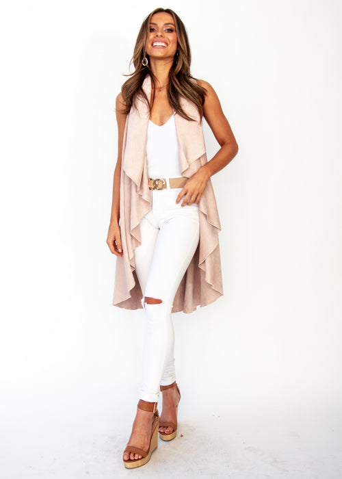 Women's Calm Dream Cape - Blush