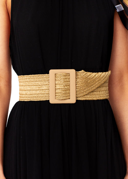 Women's London Lights Belt - Natural