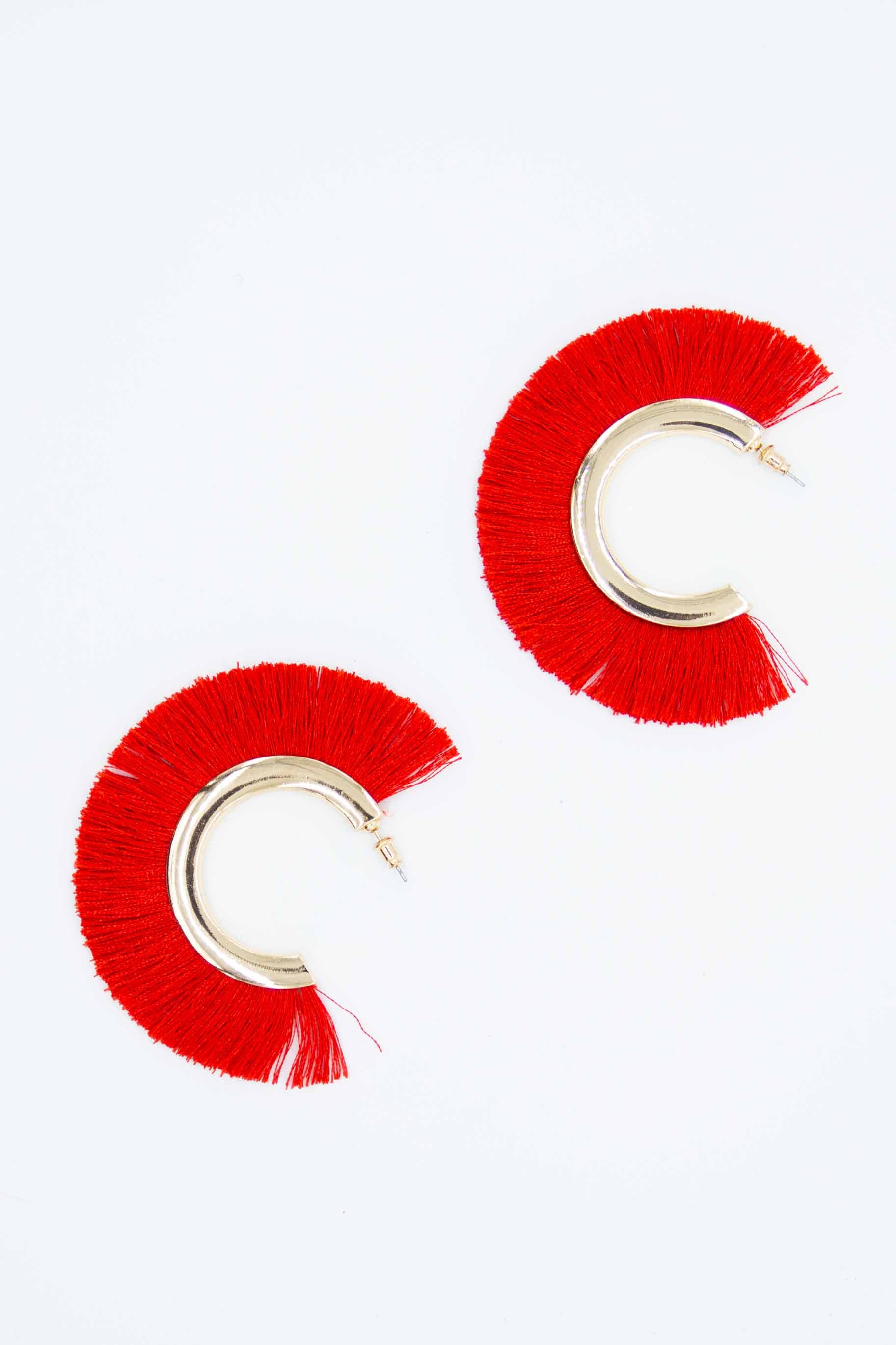 Mystique Earrings - Red