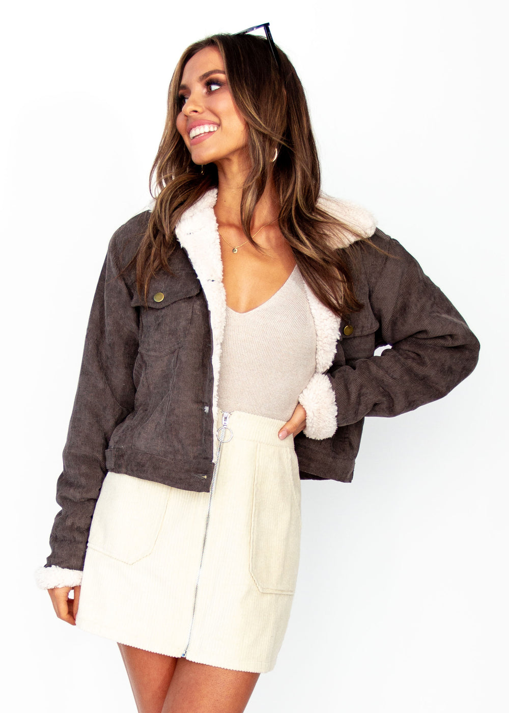 Women's Alaska Jacket - Khaki Grey