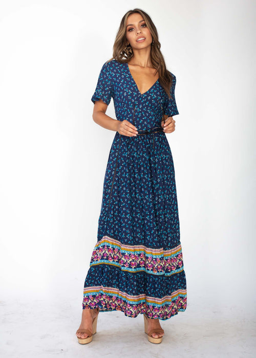 Yara Maxi Dress - Boardwalk