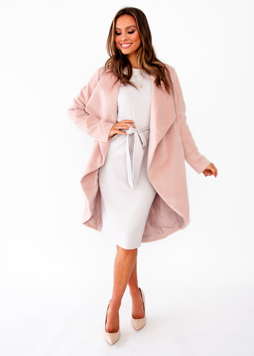 Women's Come Together Coat - Blush