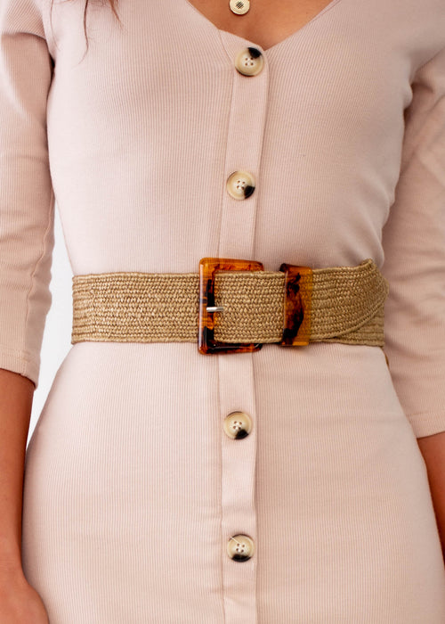 Women's Lexi Belt - Natural
