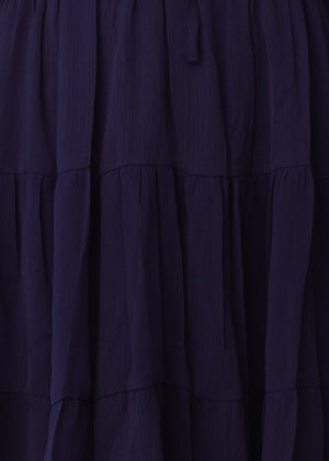 Fancy That Swing Dress - Navy