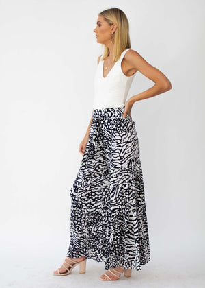 Sorrento Dreaming Pants - Black/White