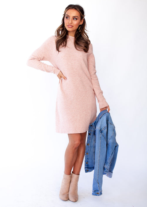 Women's Sammi Knit Dress - Blush