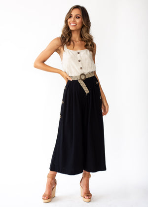Brooklyn Culottes - Black