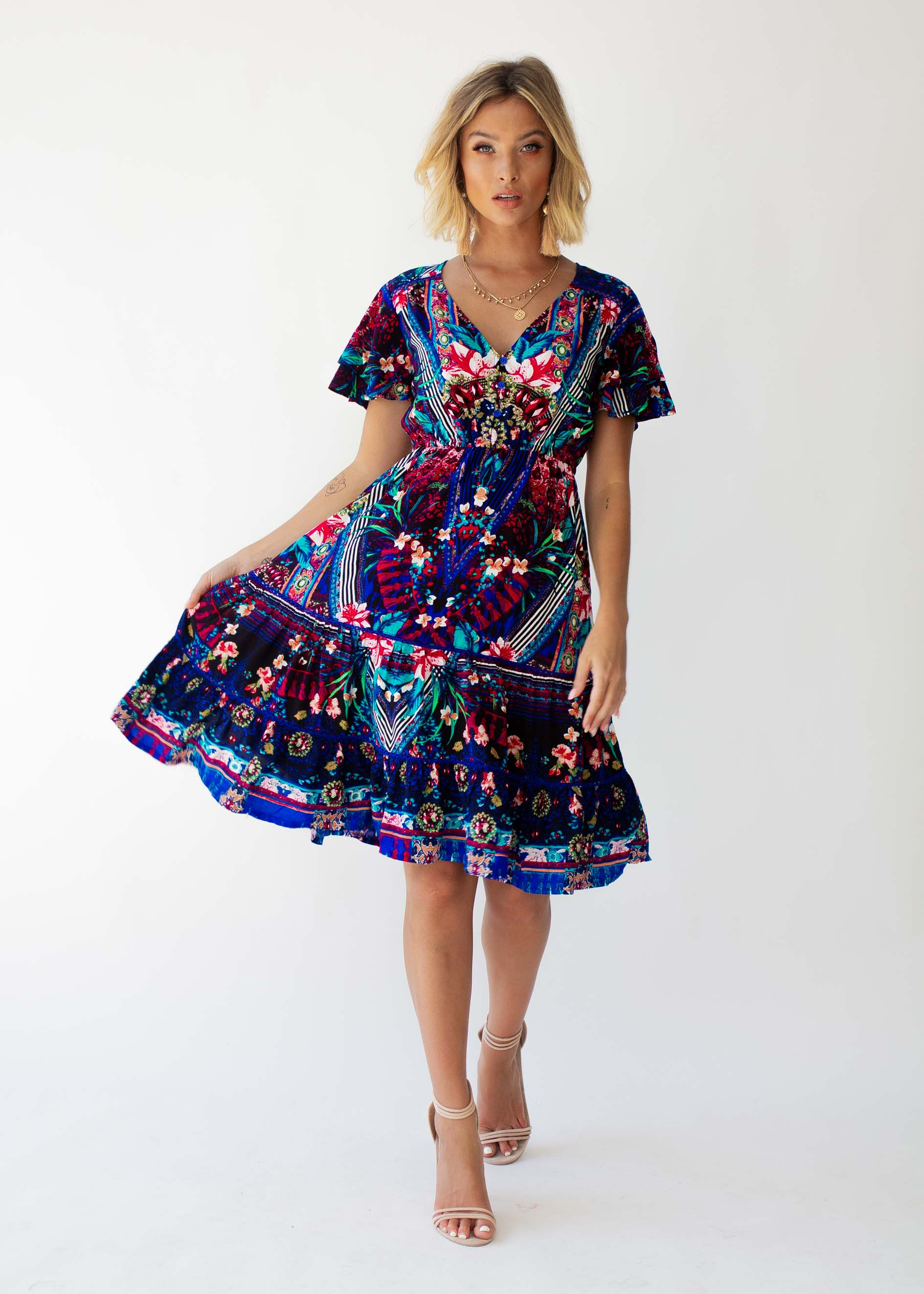 Precious Swing Dress - Rocco
