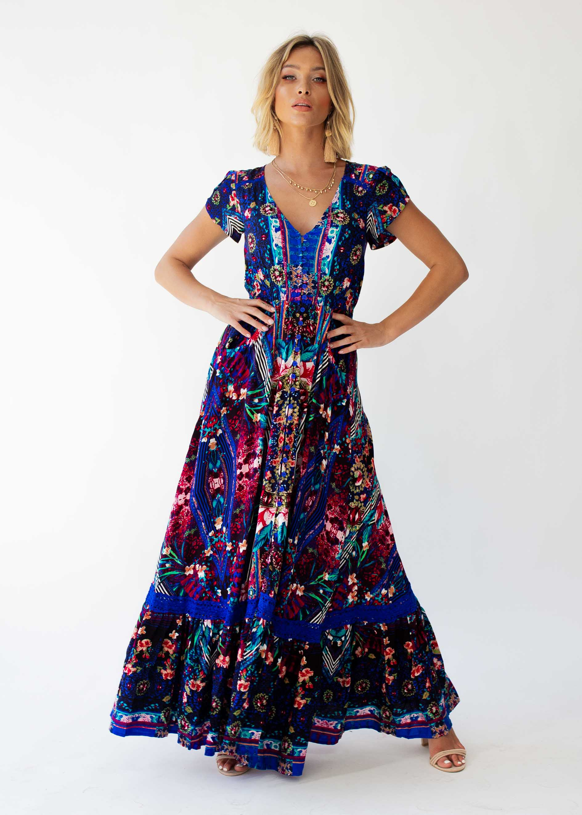 Carmen Maxi Dress - Rocco