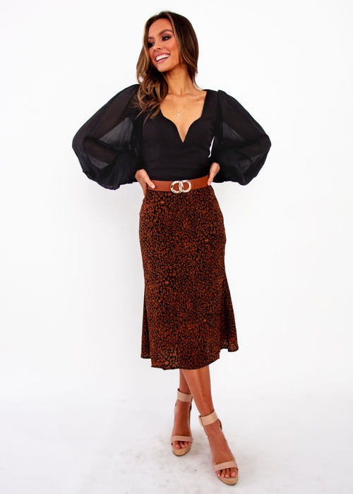 Women's Wild Child Skirt - Animal