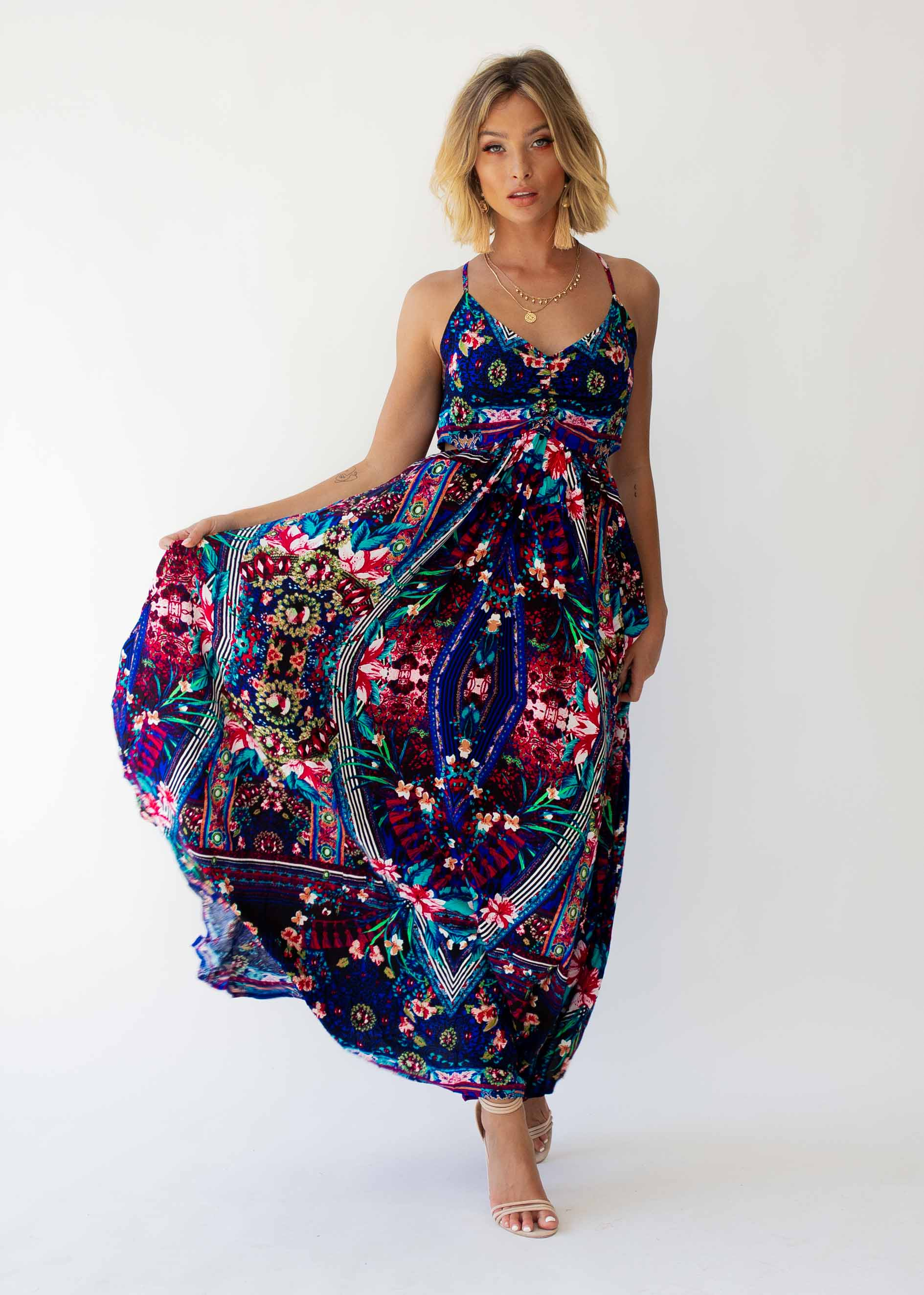 Winnie Maxi Dress - Rocco